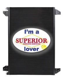 Ford / Sterling Condenser - Fits: LA8000, L8000, L9000, LN, LNT, LT, LTL, LTL9000, LTS, LTS9000
