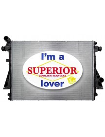 Radiator for Ford Super Duty w/ 6.7L Diesel Engine (Main)