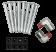 Mack / Volvo Truck Radiator - Fits: CHN, CHU, GU Granite & VHD, VXL Series