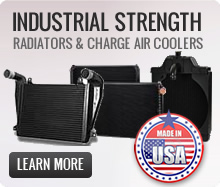 Industrial Strength Radiators and Charge Air Coolers