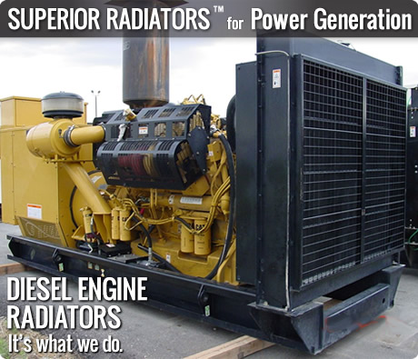 Industrial Genset Radiators